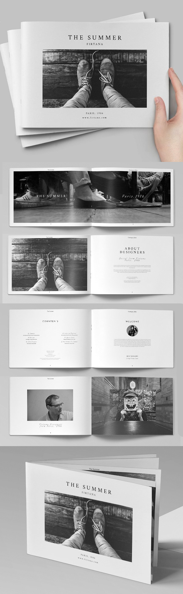 100 Professional Corporate Brochure Templates - 32