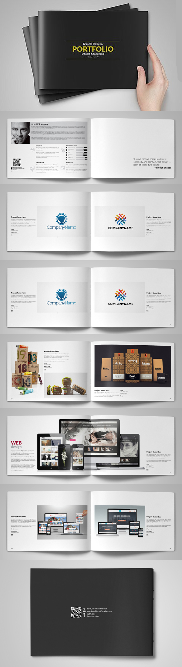 100 Professional Corporate Brochure Templates - 23