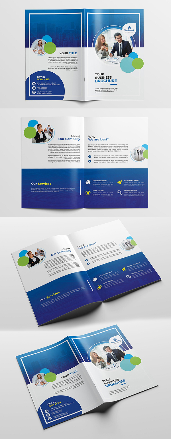 100 Professional Corporate Brochure Templates - 59