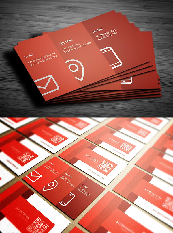 Metro Individual Business Card Template