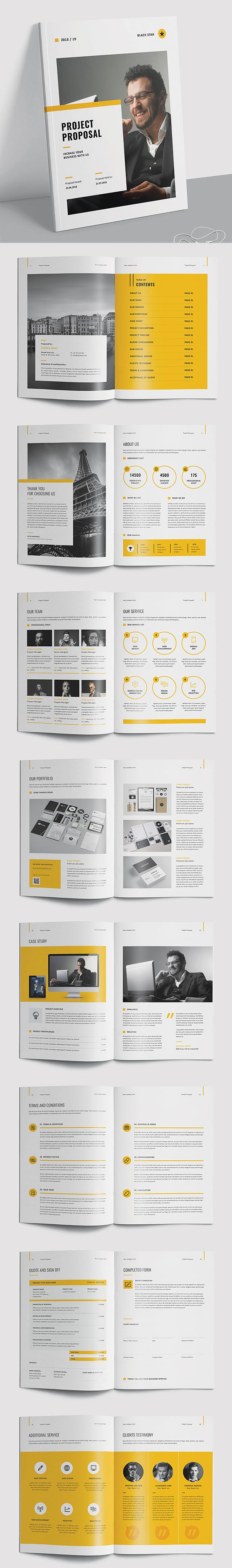 100 Professional Corporate Brochure Templates - 80