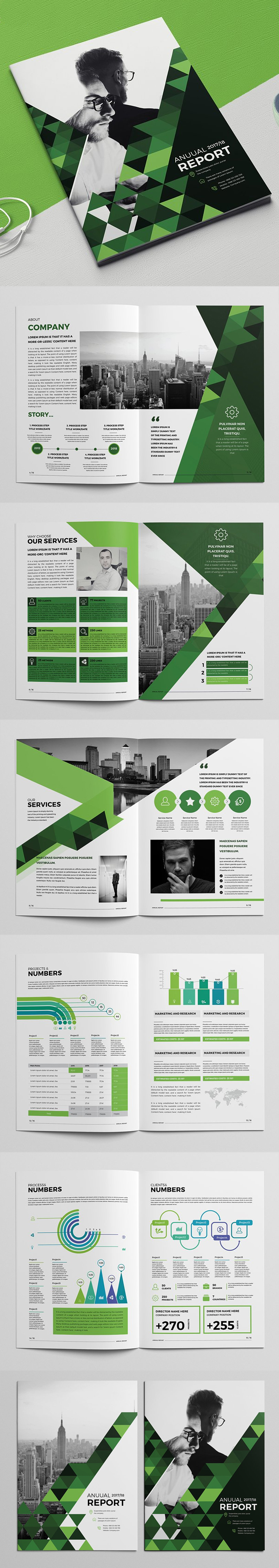 100 Professional Corporate Brochure Templates - 79