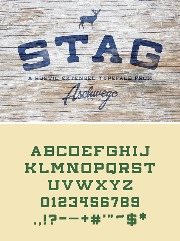 Stag Font