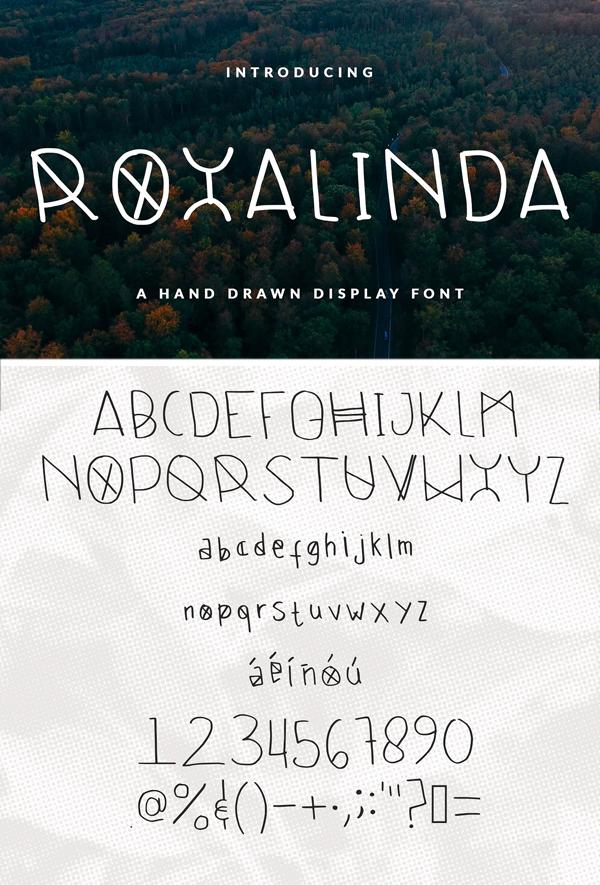 Roxalinda Font Display