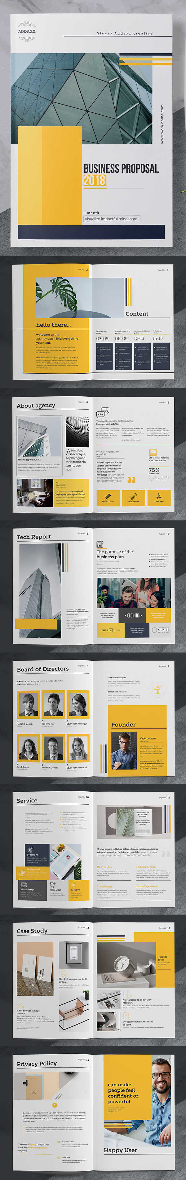 100 Professional Corporate Brochure Templates - 73