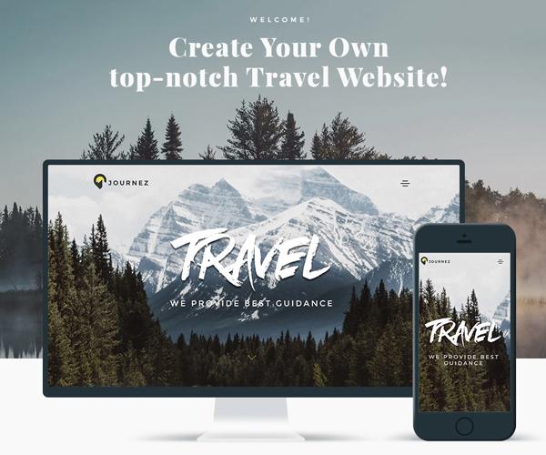 Journez - Travel Elementor WordPress Theme