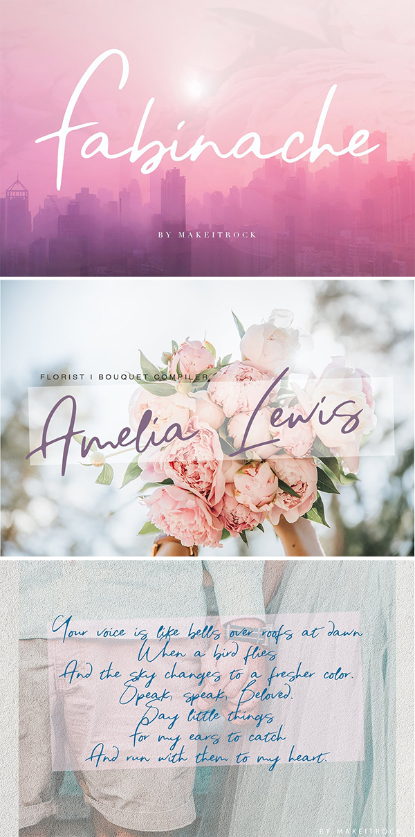 Classy Lovely Calligraphy Font