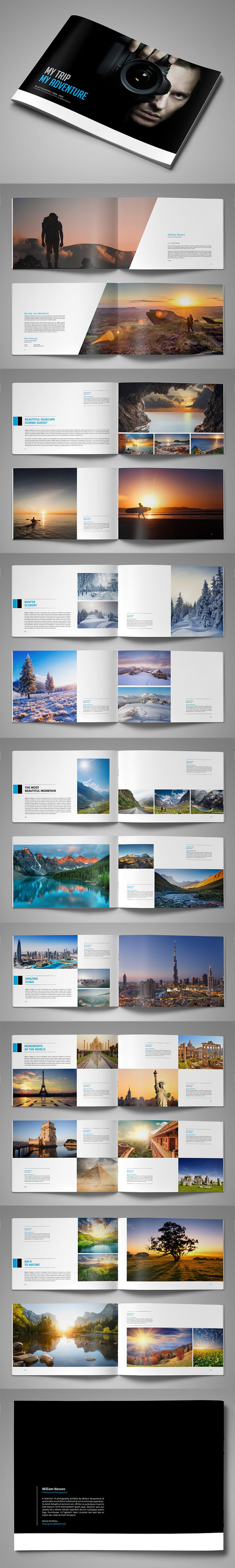 100 Professional Corporate Brochure Templates - 99