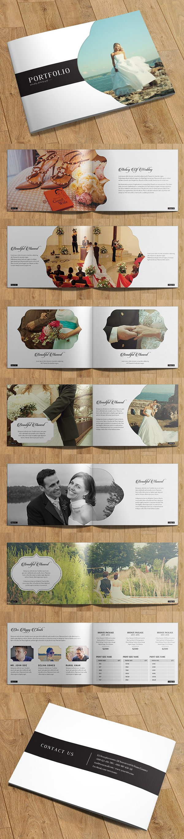 100 Professional Corporate Brochure Templates - 94