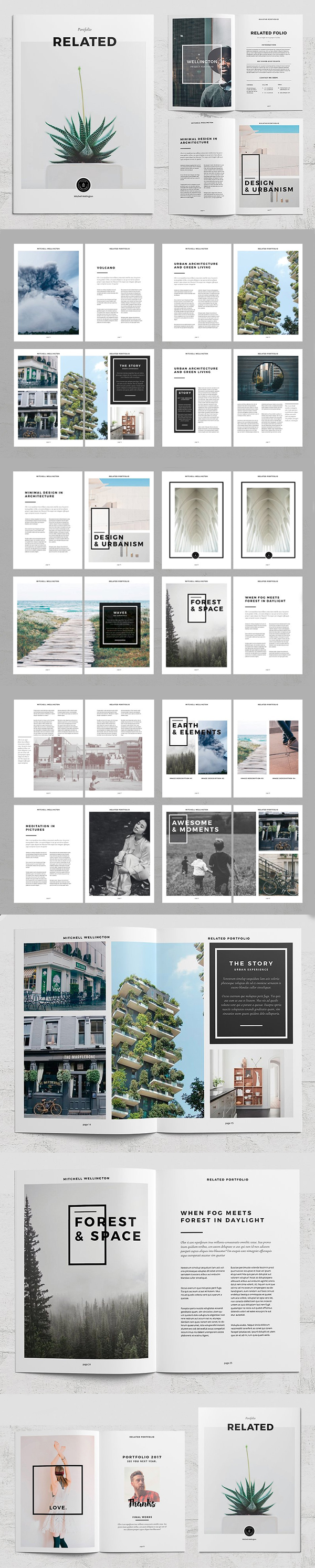 100 Professional Corporate Brochure Templates - 93