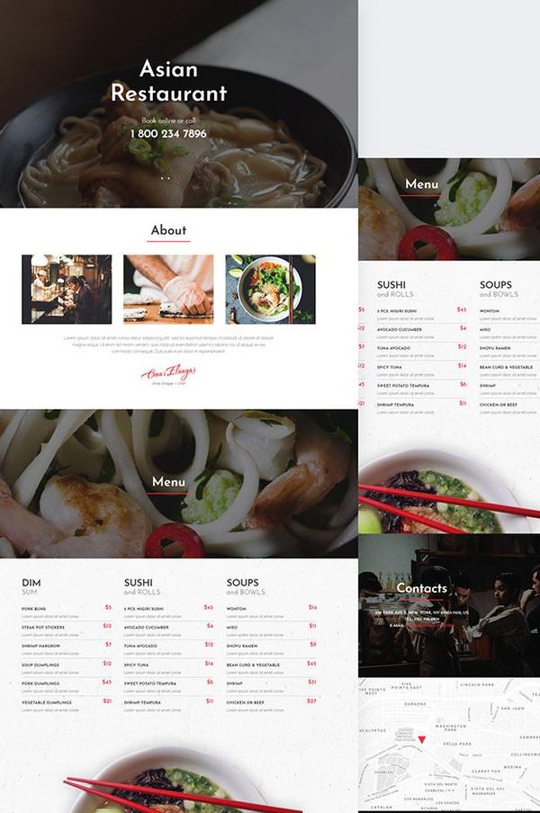 RedDragon - Asian Restaurant Jet Elementor Template