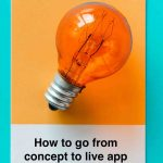 How to Go From Concept to Live App in 8 Steps