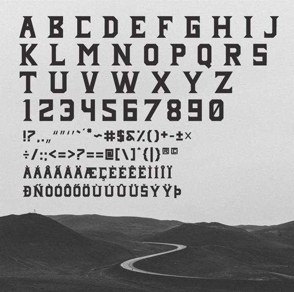 Janji Neue Font Letters