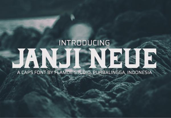Janji Neue Free Font