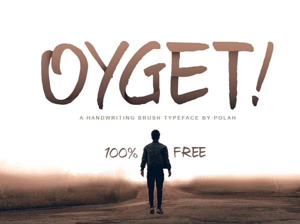 Oyget Free Font