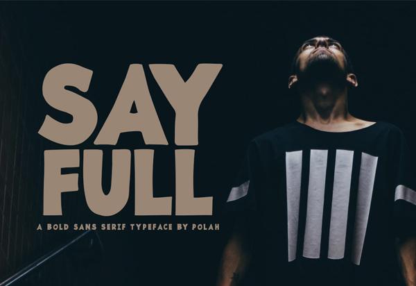 Sayfull Free Font