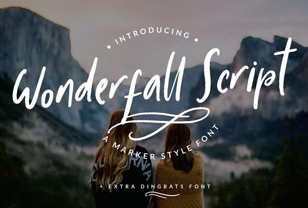 Wonderfall Script Free Font