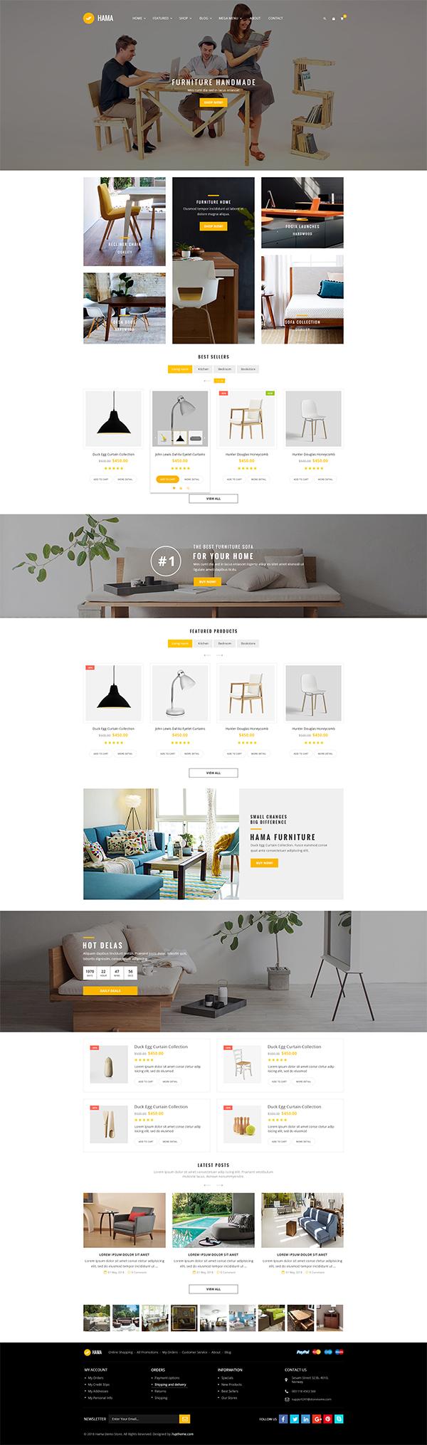 Hama – Store WooCommerce WordPress Theme
