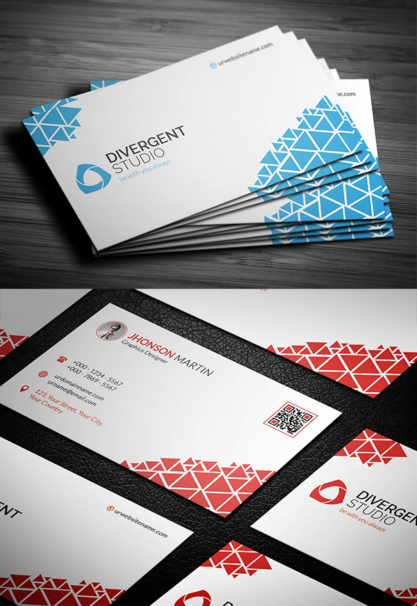 Pixels Buisness Card