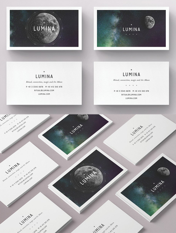 LUMINA Business Card Template
