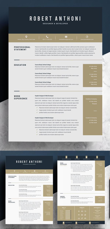 Word Resume Temlate