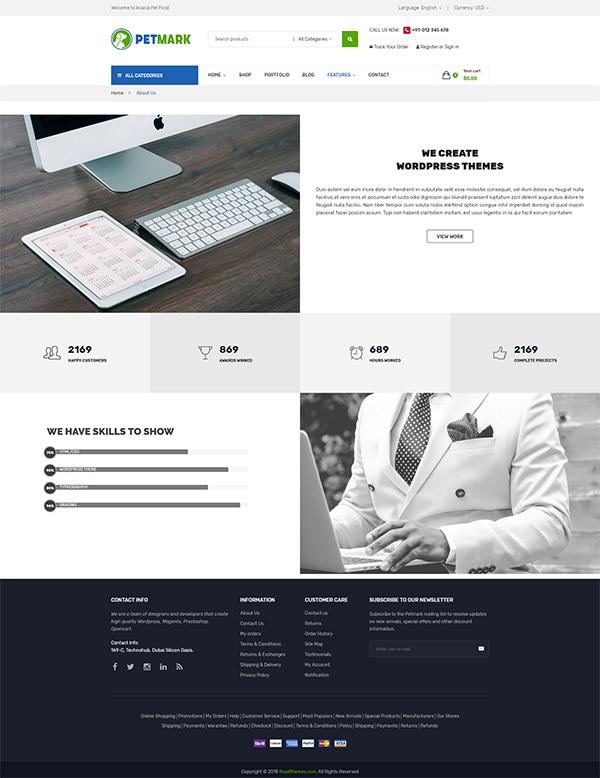 PetMark – Responsive WooCommerce WordPress Theme