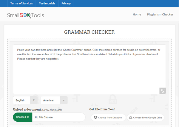 Grammar Checker SEO Tool