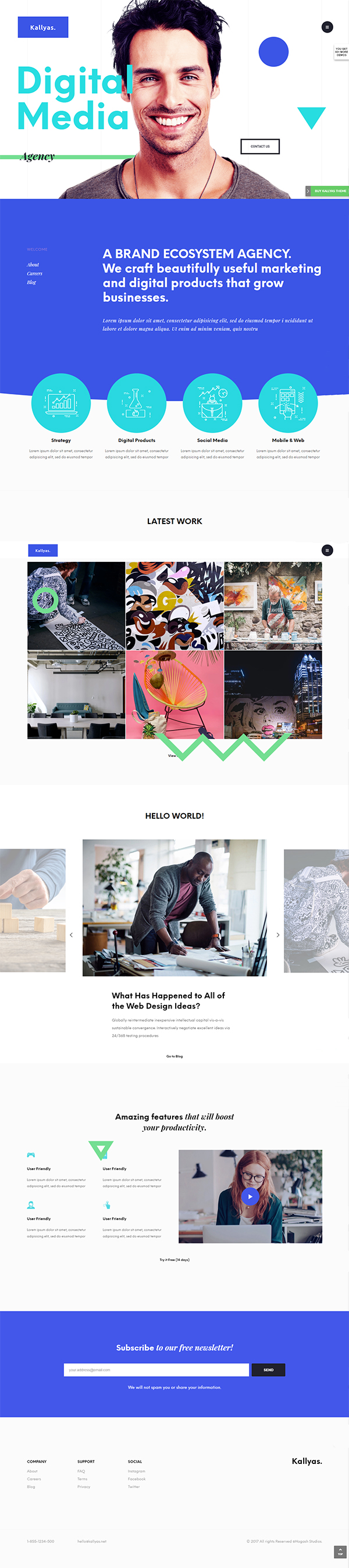 Creative eCommerce Multi-Purpose WordPress Theme