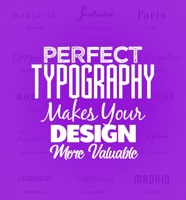 Inventive typography
