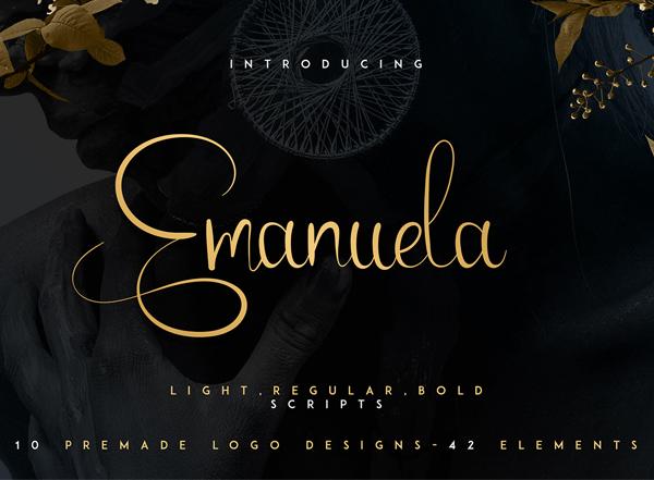 Emanuela Script free fonts