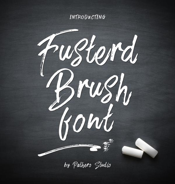 Fusterd Brush free fonts