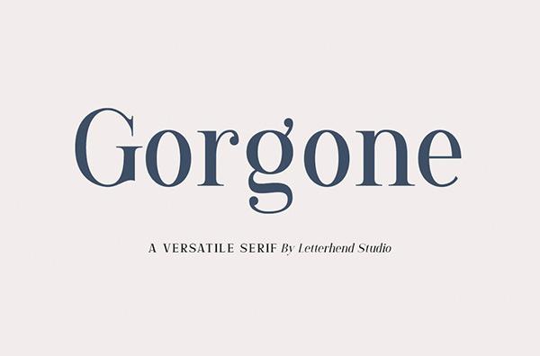 Gorgone Serif Free Font