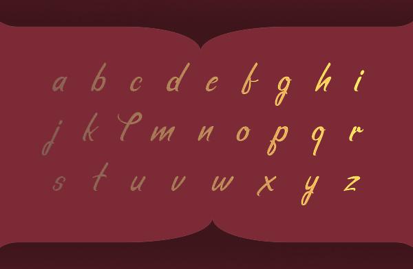 Hello Love Brush  Font Letters