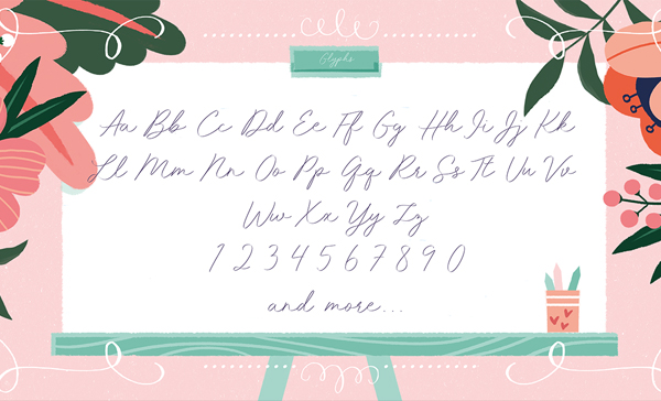 Idana Luisa Font Letters
