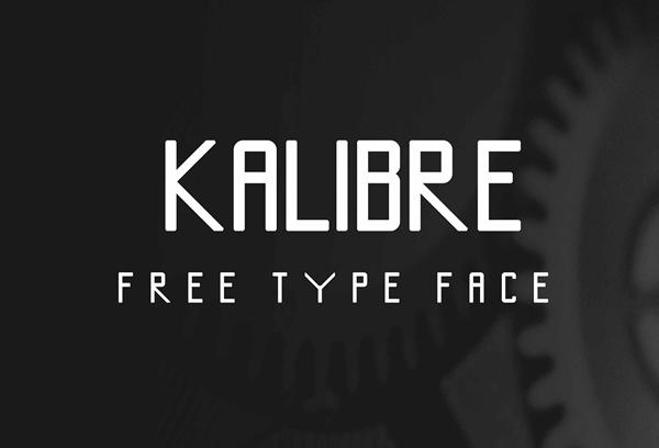 Kalibre free fonts