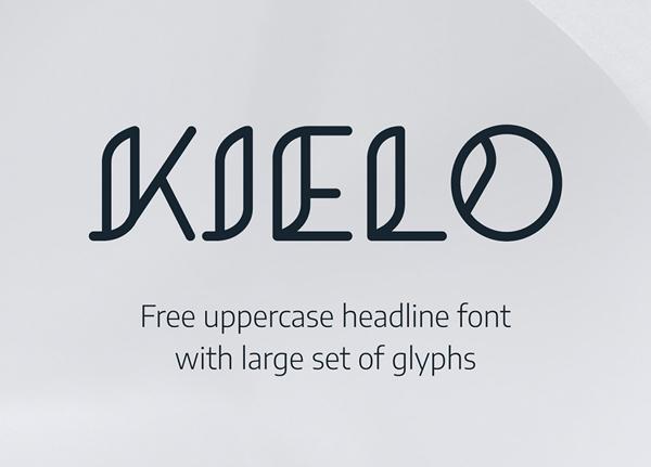Kielo free fonts