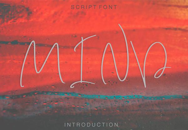 Mind Script Free Font