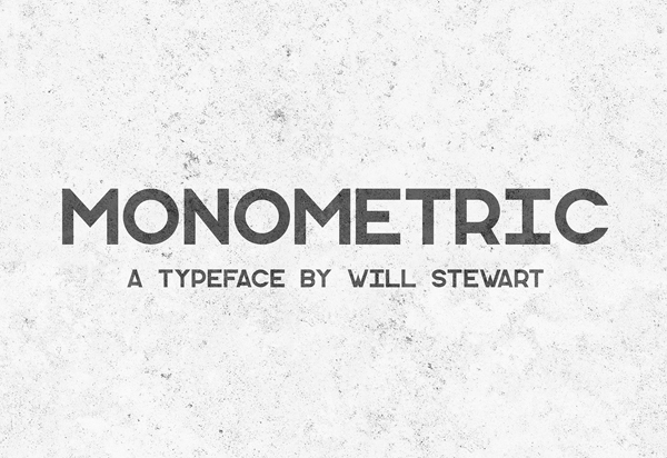 Monometric Free Font