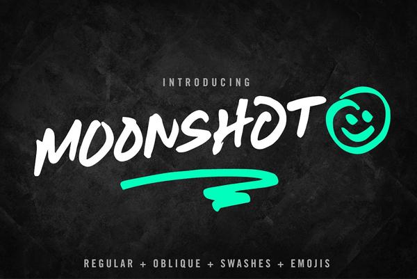 Moonshot Free Font