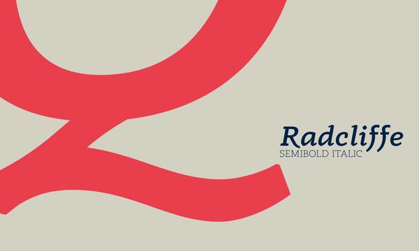 Radcliffe Free Font