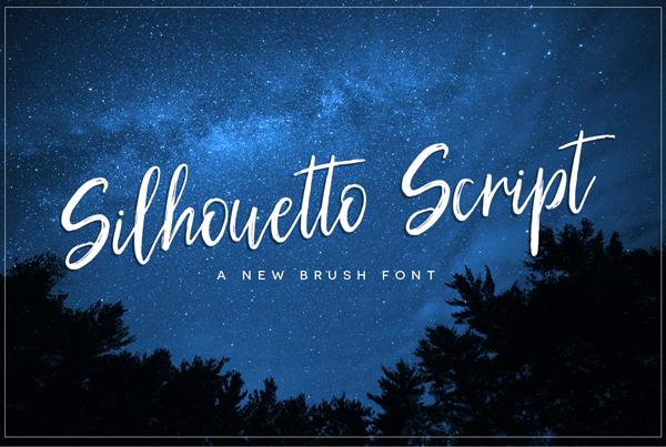 Silhouetto Script Free Font