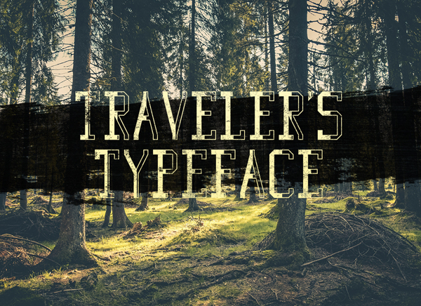 Traveler's Typeface Free Font
