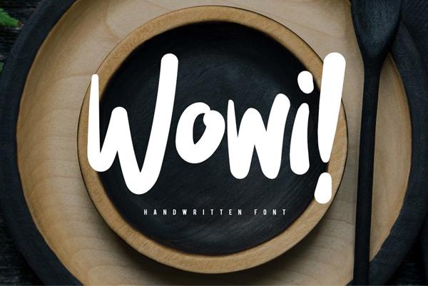 Wowi Free Font