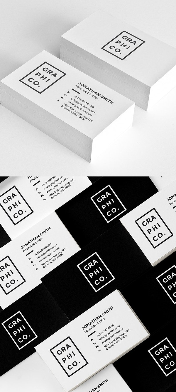 Modern Corporate Business Card