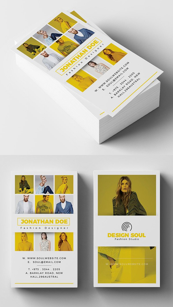 Fashion Business Card Design