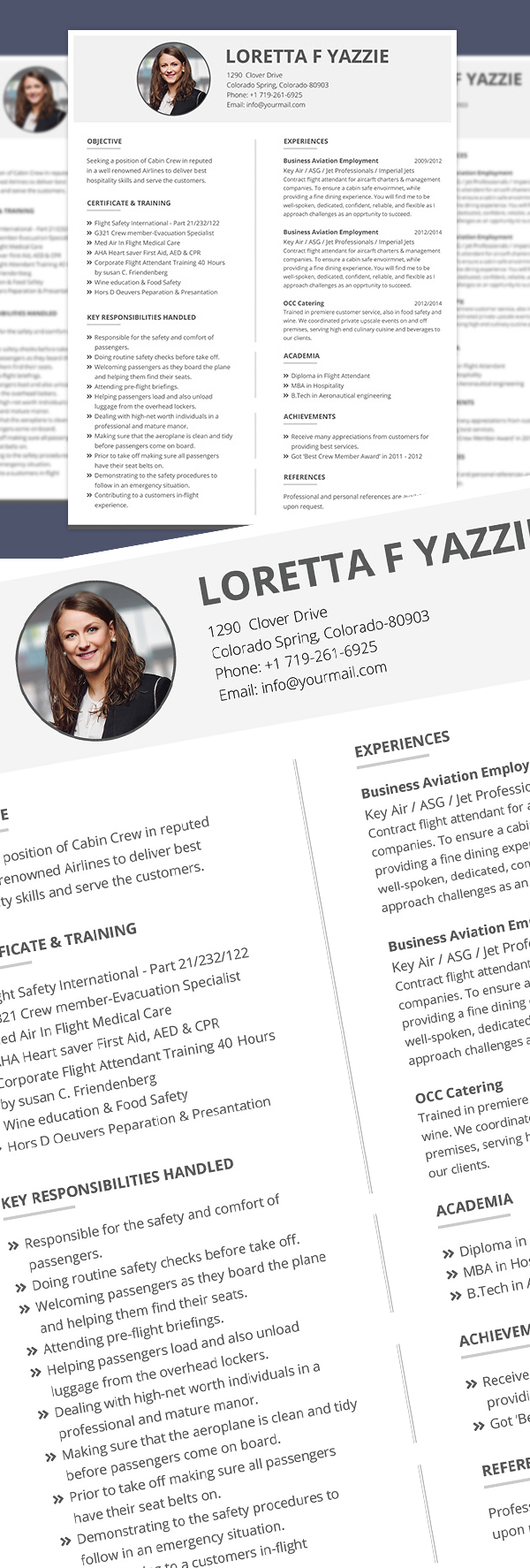 25 Fresh Free Professional Resume Templates - 16