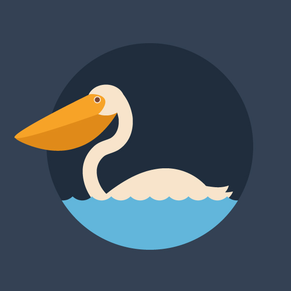 How to Create a Quick Pelican in Adobe Illustrator