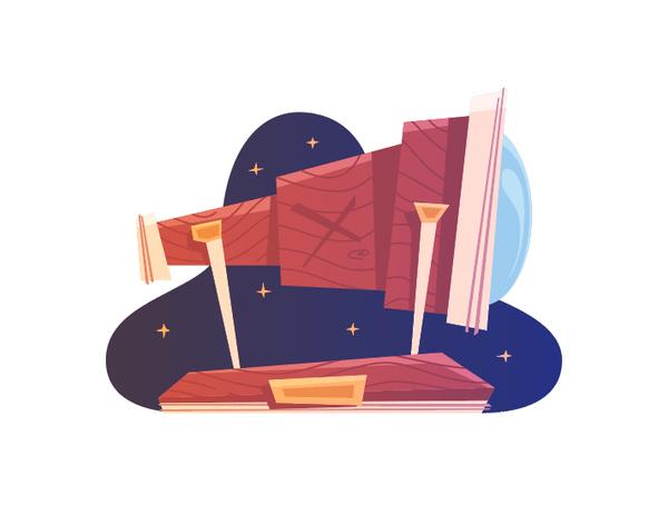 How to Create a Pirate Telescope in Adobe Illustrator Tutorial