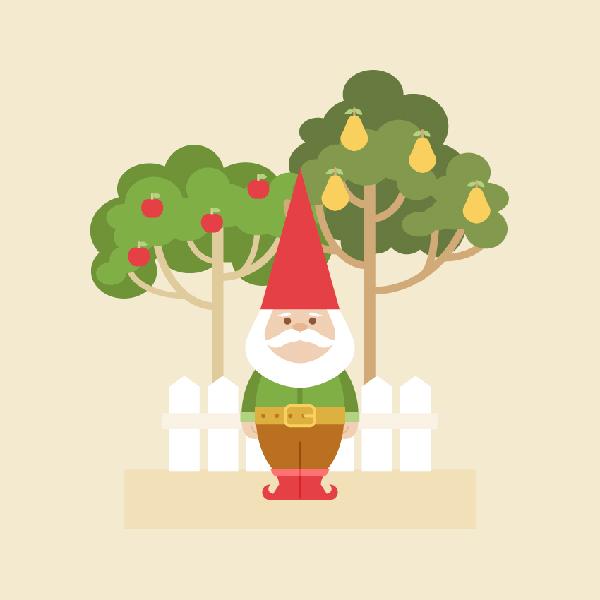 How to Create a Garden Gnome Illustration in Adobe Illustrator