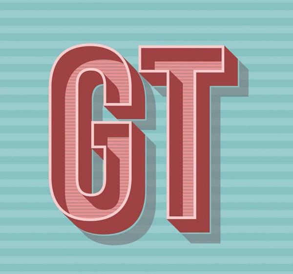 Learn How to Create Advance Retro Typography Illustrator Tutorial